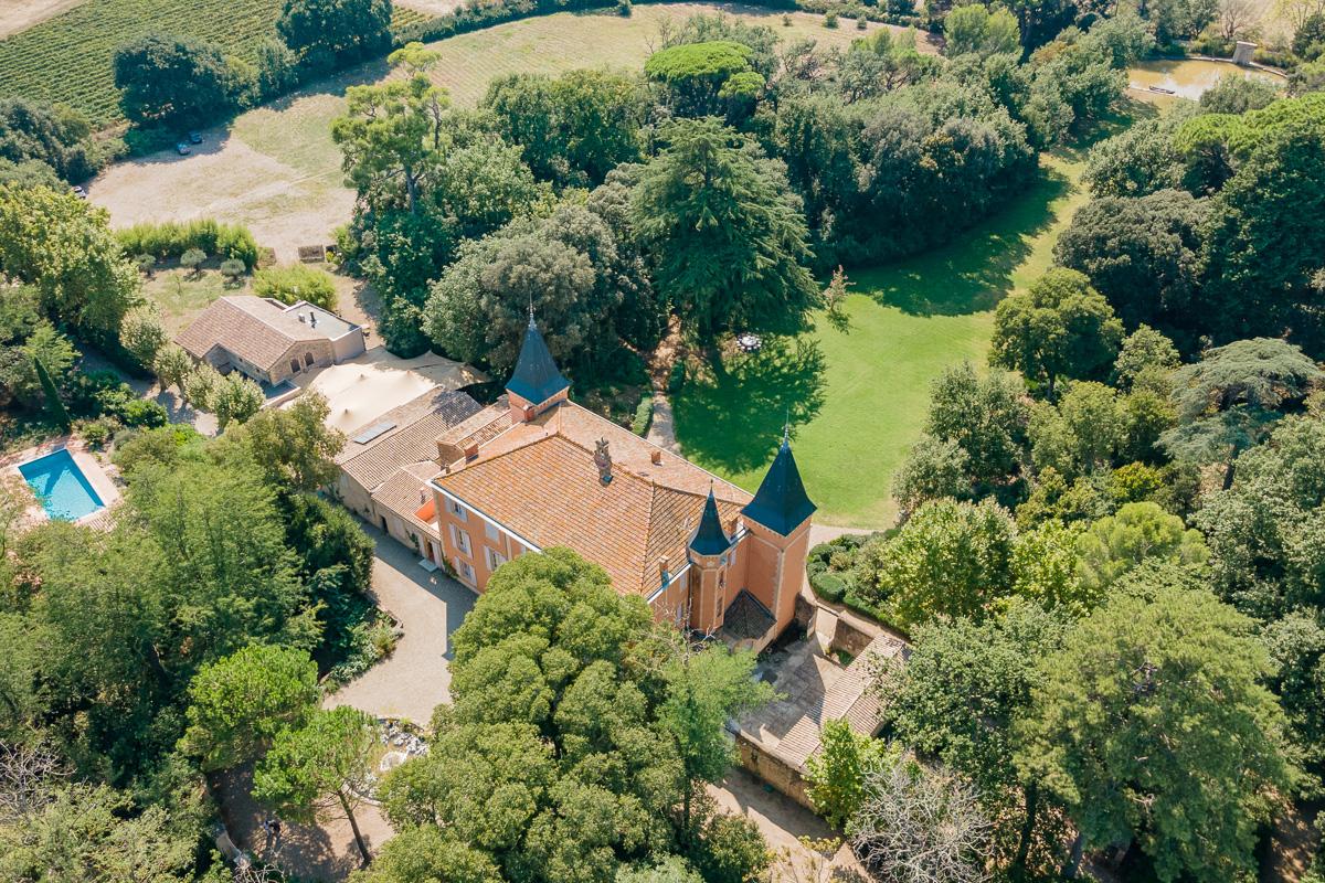 Photographie drone prestige - Château